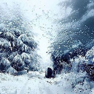 Good Bye winter... Good Night Lebanon💛💚💙