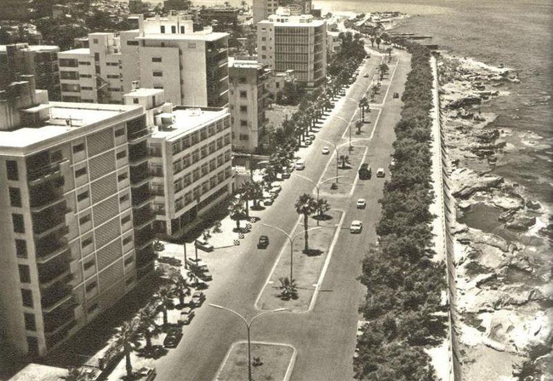 Beirut Corniche 1964