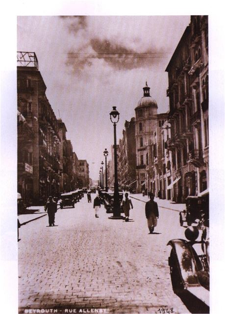 Allenby Street 1948