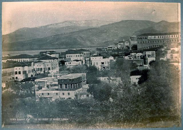 Beirut, view on Bab Edriss  1889