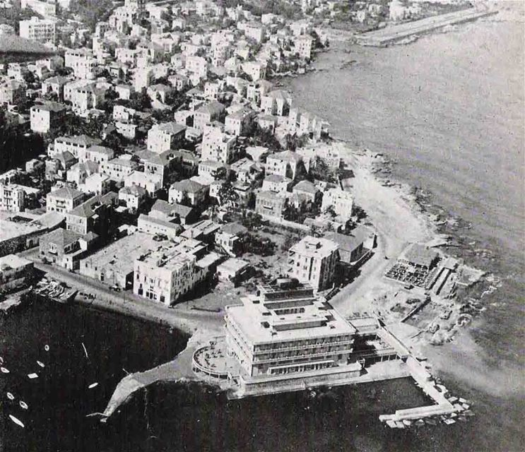 Hotel Saint Georges and Ein El Mreysseh  1948