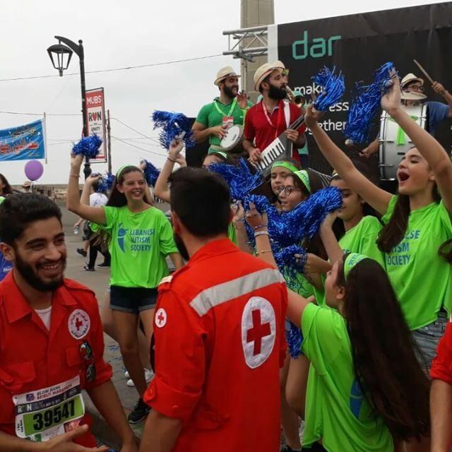 Beirut marathon! #marathonbeirut #beirut