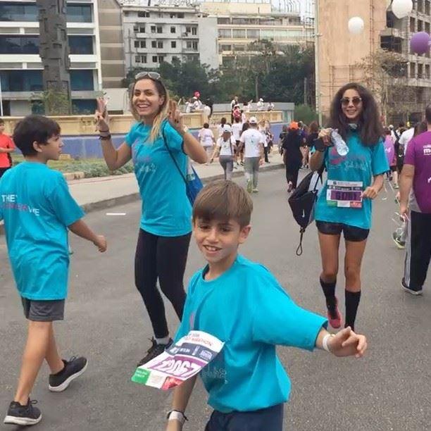 #kidsfirst #wefightcancer#marathon2016 # (Beirut Marathon)