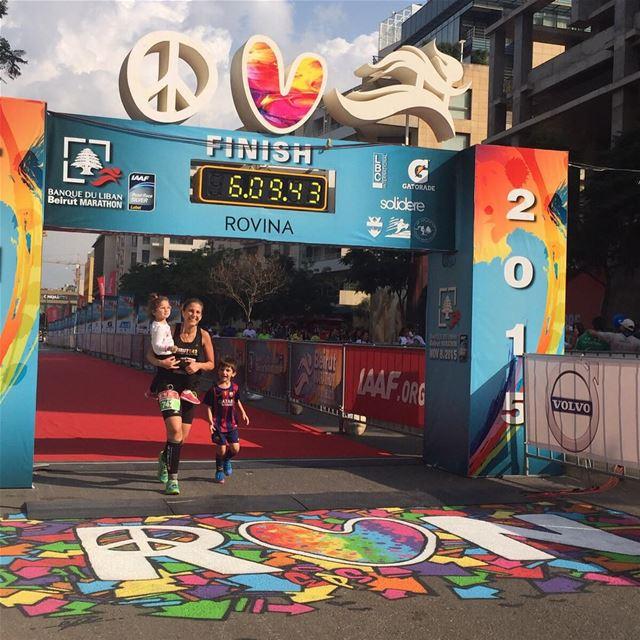 42k marathon. ✔️ #bucketlist #marathonbe