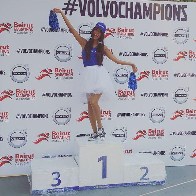#volvoc hampions #marathon beirut