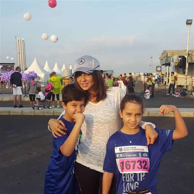 We Run for Peace and Fun #beirut #marathon