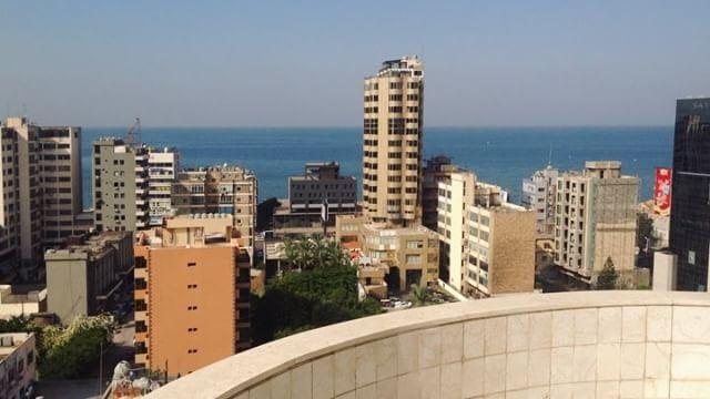 #lebanon#beirut#beautiful #view#sea#work (L.I.P.S)