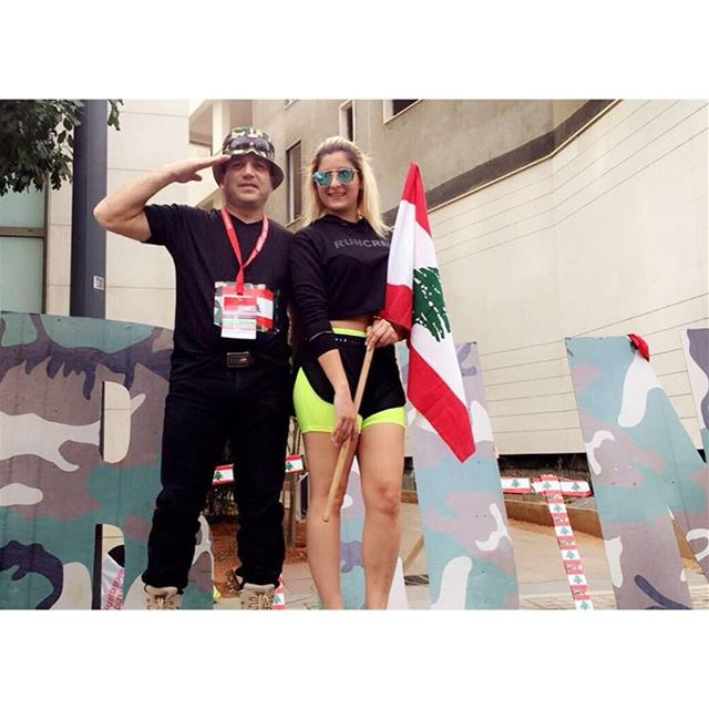 Run For The Lebanese Army ⚔️❤️ (DownTown - Beirut Marathon)