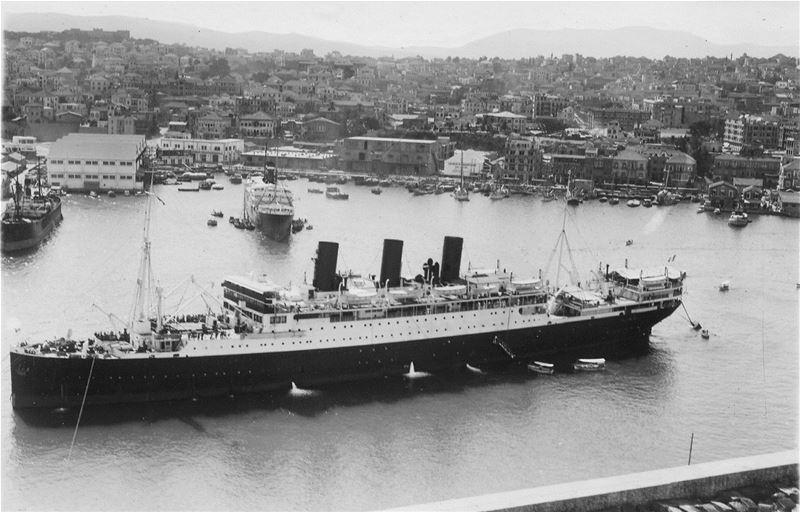 Mariette-Pacha Ship, Beirut Port 1939