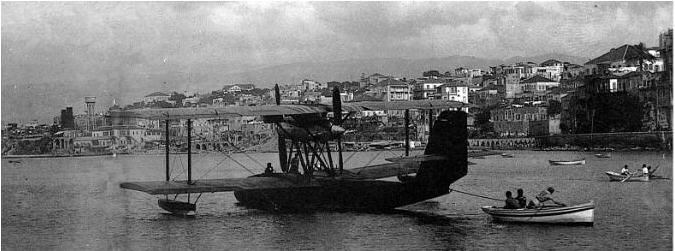 Air Orient seaplane  1930