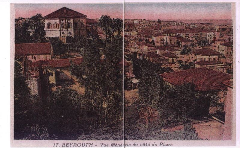 Beirut View from Manara 1900s