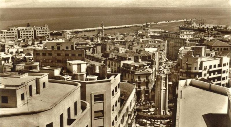 Downtown Beirut 1950