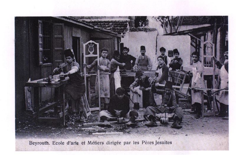 Beirut Carpentry School 1900s
