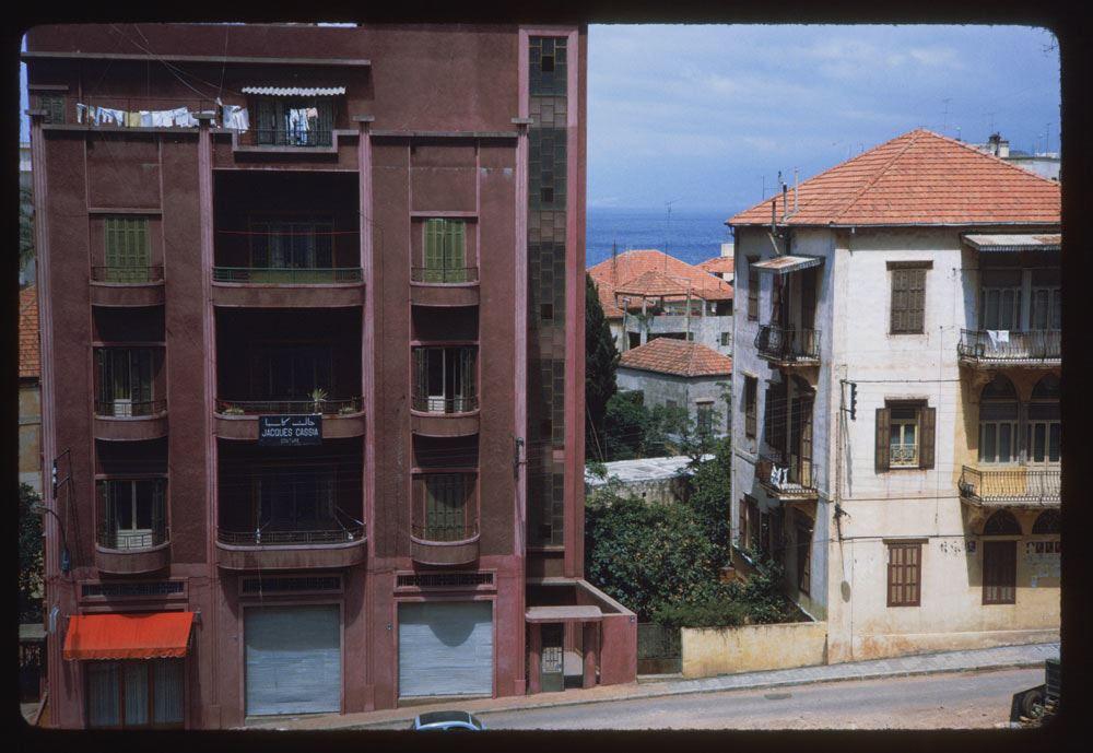 Minet el Hosn near Beirut sea 1965