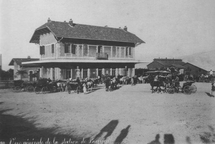 Beirut Train Station, Mar Mkhayel 1896