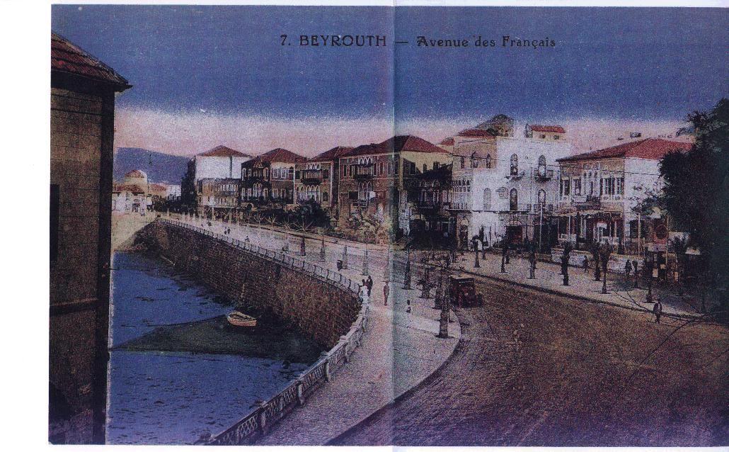 Avenue des Francais 1920s
