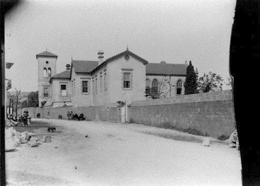 Bliss Street and AUB Dodge Hall  1890s