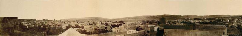 Beirut Panorama 1859