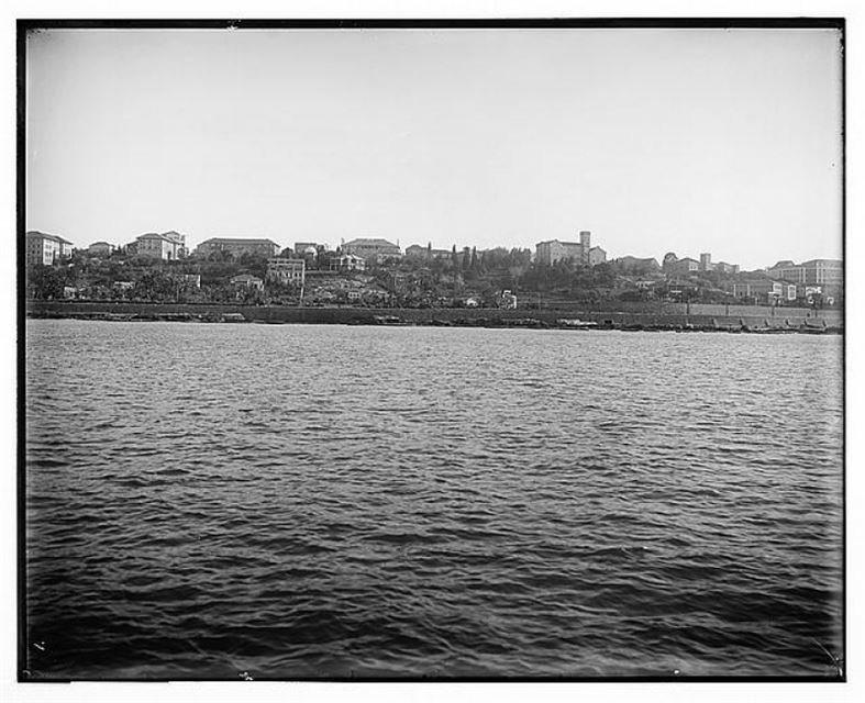 AUB view from the sea 1910