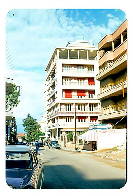 Abdel Aziz Street 1958
