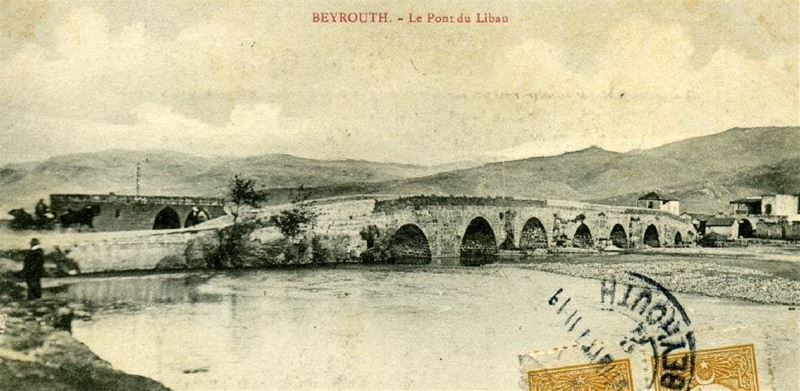Nahr Beirut Bridge 1900s