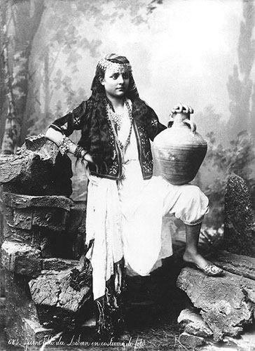 Young Lebanese Woman 1880s