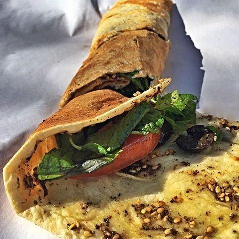 Good morning foodies! Happy Weekend ☀️😍 Mankoushe Zaatar taken by @soraya.khalil