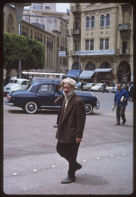 Lebanese man in Parliament Square 1965
