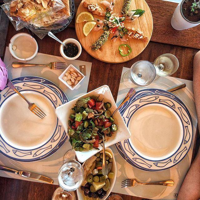 Lunch by the sea 🌊🌊🍴 (Al Azrak-Jbeil)