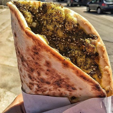 The perfect breakfast on the go 😍😍❤️ lebanoneats