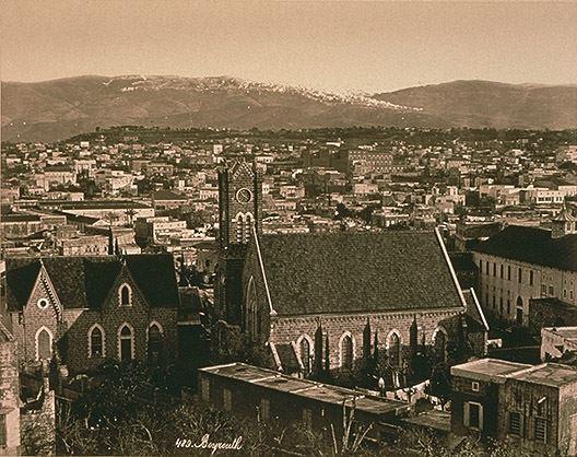 Beirut Evangelical Church 1880