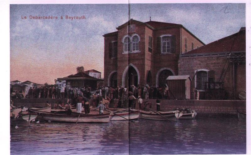 Beirut Port 1900s