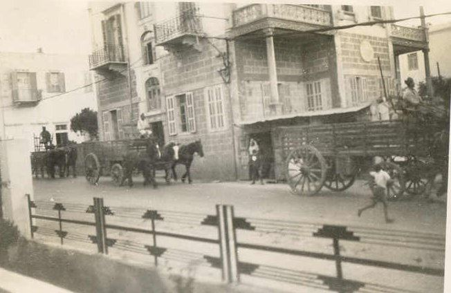 French Colonial Troops Transportation - Mar Elias  1942