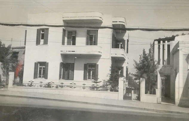 British Head Quarters, Mar Elias Street  1942