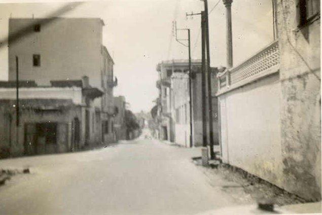 Mazraa Street 1942