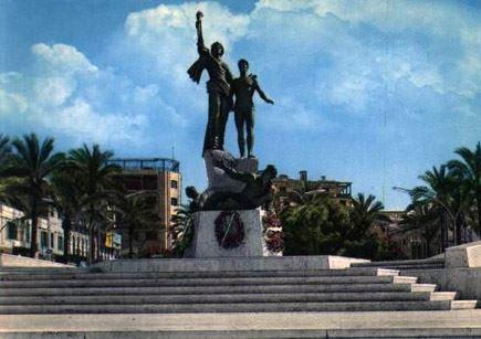 Martyrs Square Statue 1970s