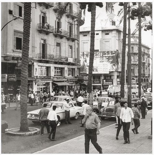 Beirut Martyrs Square 1969