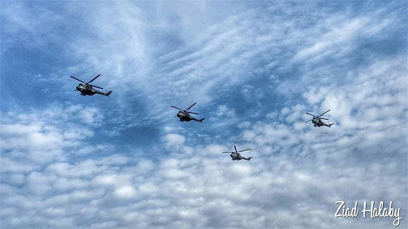 Lebanese Army Helicopters