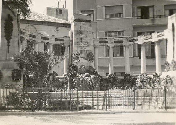 French monument, Zeitouneh  1942