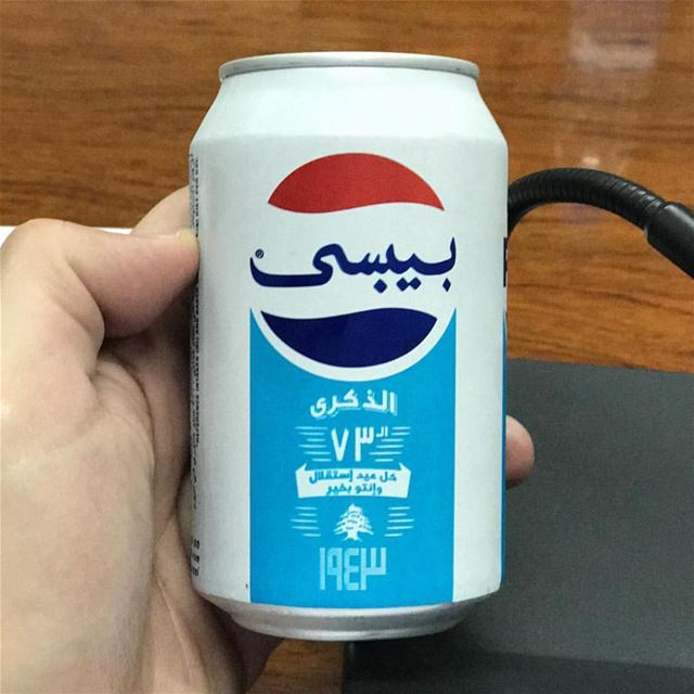 A new Pepsi can design appeared in local stores, saluting Independence Day.