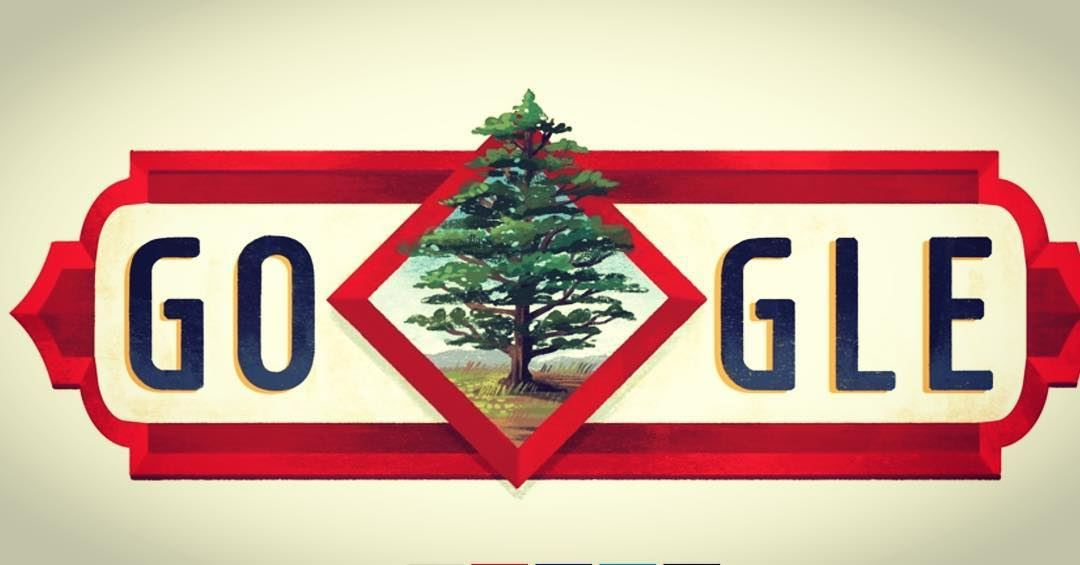 November 22 Lebanon 🇱🇧 Independence Day by Google (Consulate of Lebanon in The Philippines)