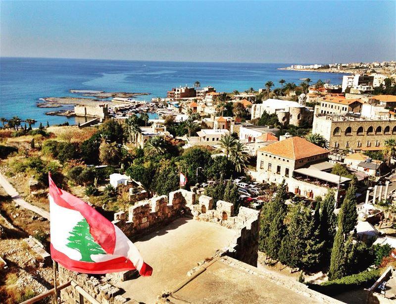 Atop a Crusader Castle (Byblos, Lebanon)