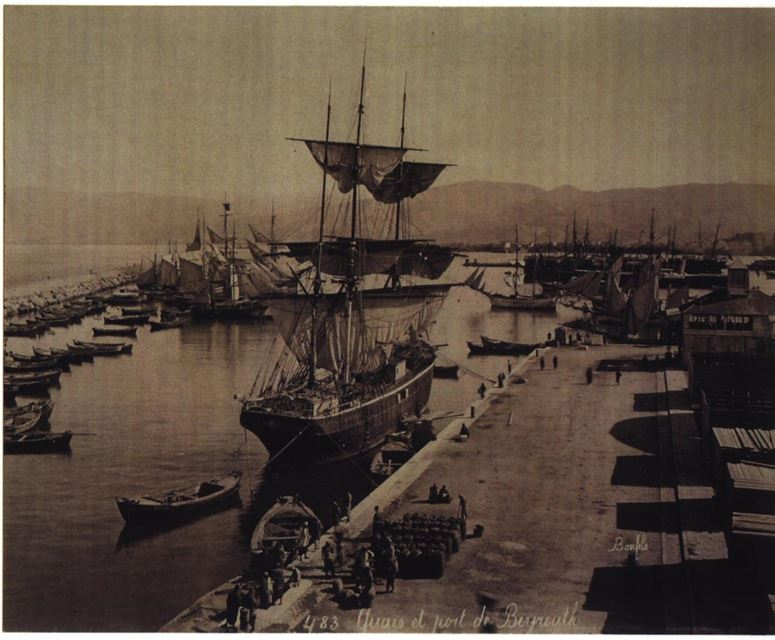 Beirut Port 1870