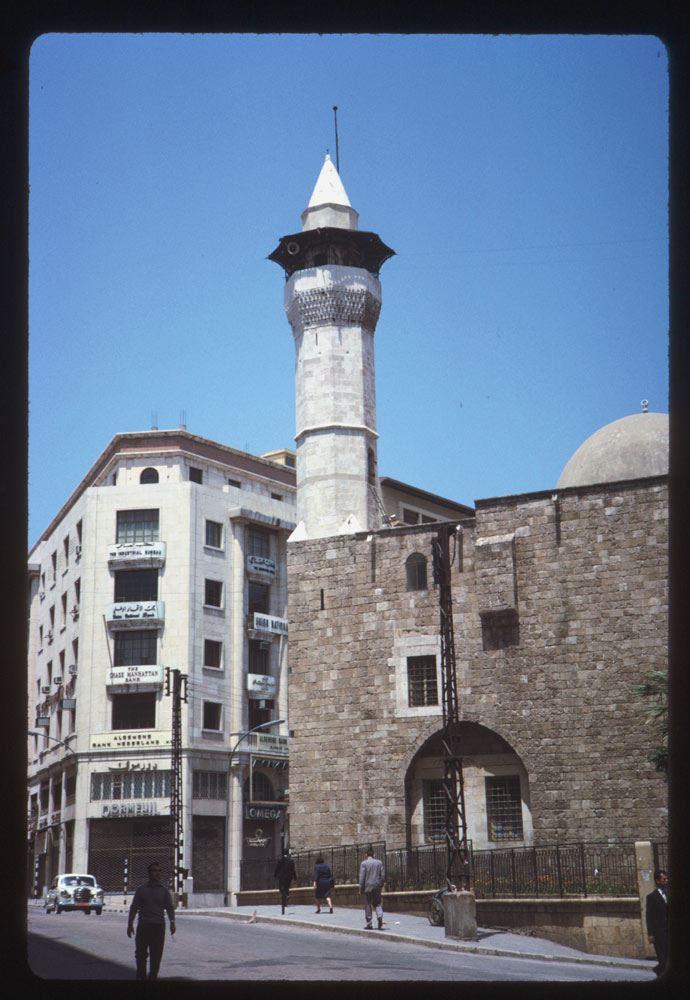 Emir Munzer Mosque 1965