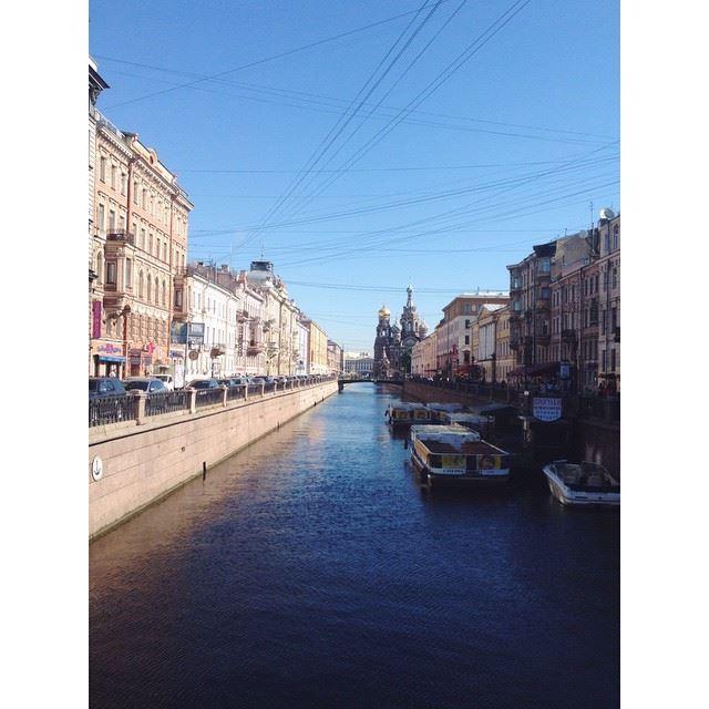 Русская Венеция городнаневе Saint-Petersburg