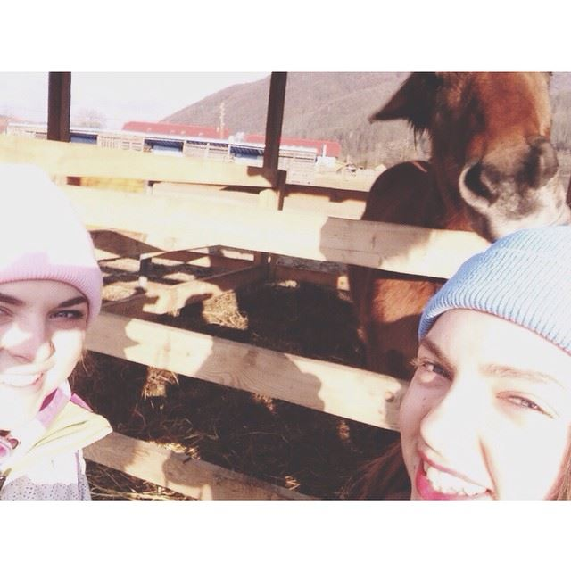 Селфи с лошадью) Кажись, эта лошадка что-то задумала😂😂😂 @alenkagl