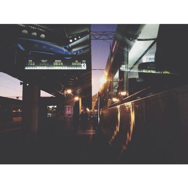 Давно у меня не было таких спонтанных решений - ночью решила, утром уже была в поезде) со мной сорвалась моя сестра - приехали на танцевальный мастер-класс))