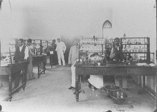 AUB Chemistry Laboratory 1890s