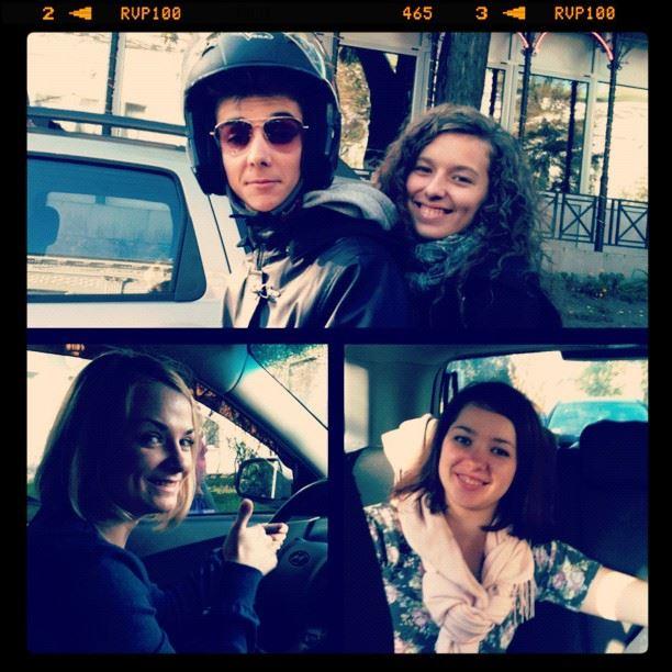Люблю вместе ездить:))