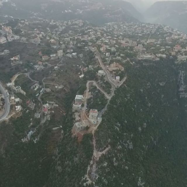 Drone Video from the Sky for The Beautiful Lebanese Mountains